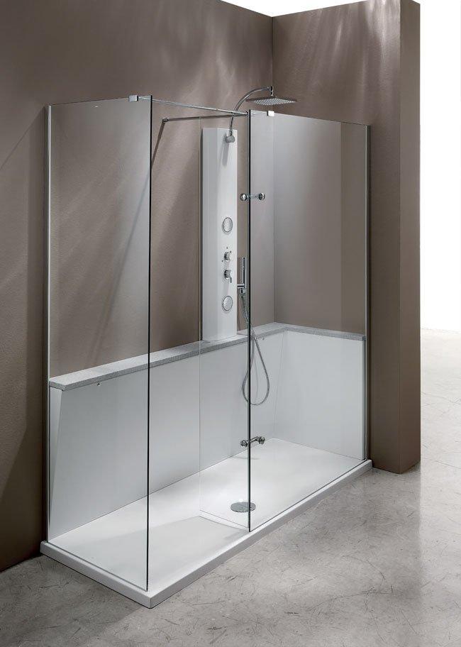 Trasformazione e sostituzione vasca con Box doccia Design Plus Egena