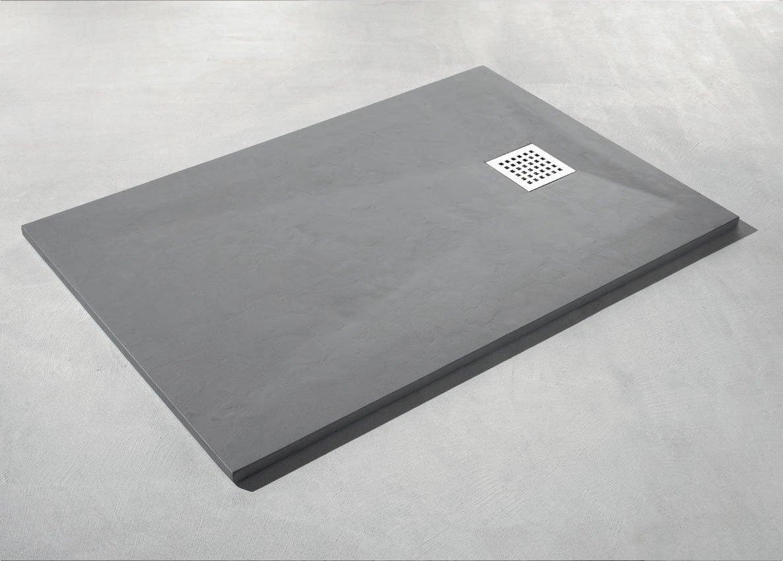 Piatto Doccia Angolare 60 X 80.Piatto Doccia Rfm Metal Tech Egena 80 X 120 Cm