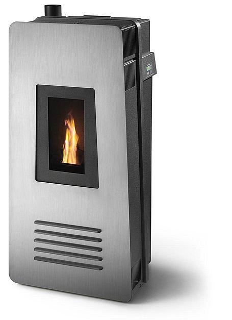 Stufa pellet biomassa CS Thermos Silenzio 8 kW