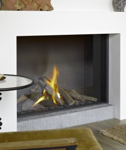 Caminetto gas Monofacciale B-fire 100 high Tulp