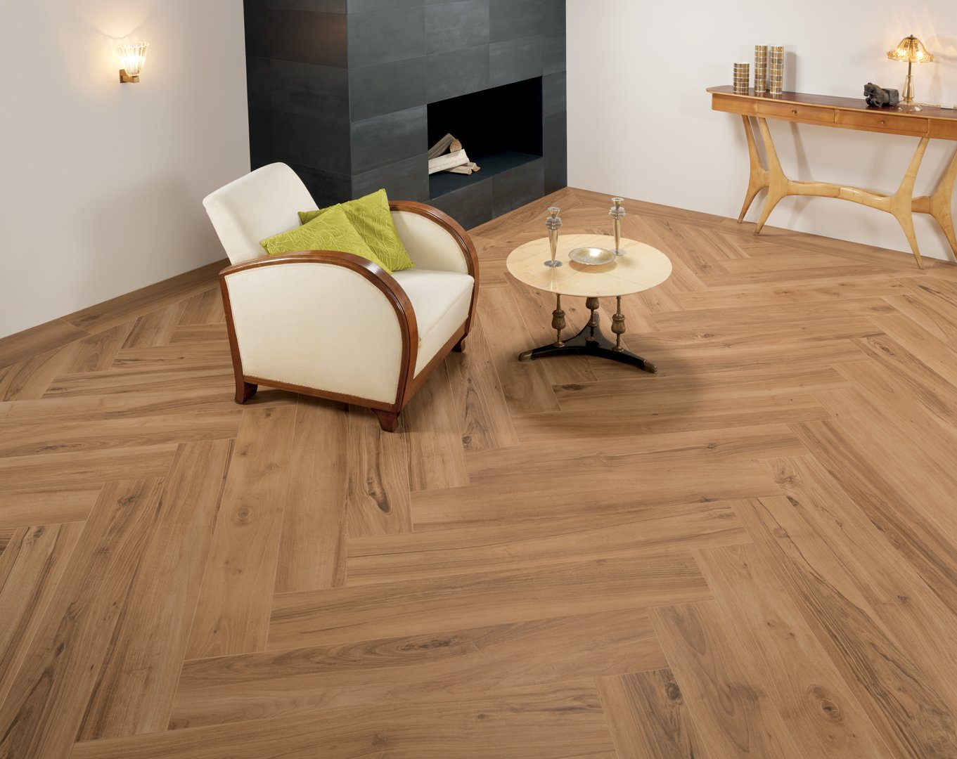 Piastrelle effetto legno serie evoke keope