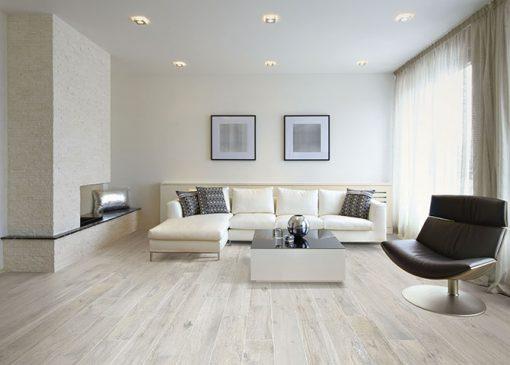 Pavimenti Finto Legno Chiaro.Piastrelle Effetto Legno Serie Memory Savoia Bianco 15x100 Cm