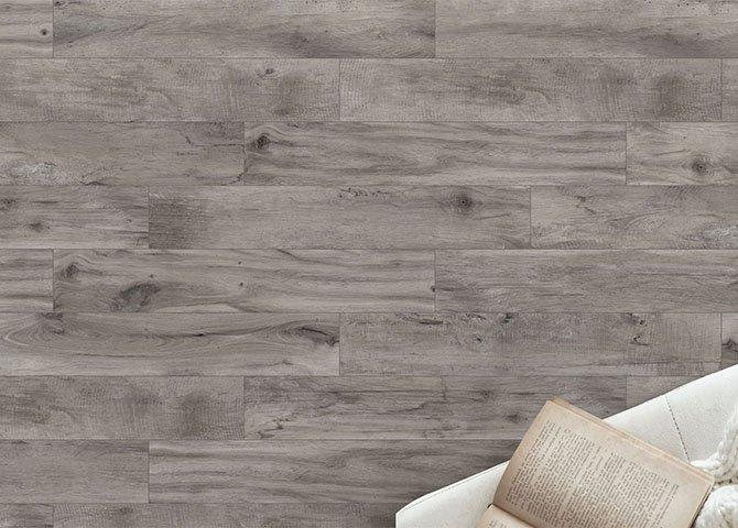 Piastrelle effetto legno serie vintage savoia grigio 20x120