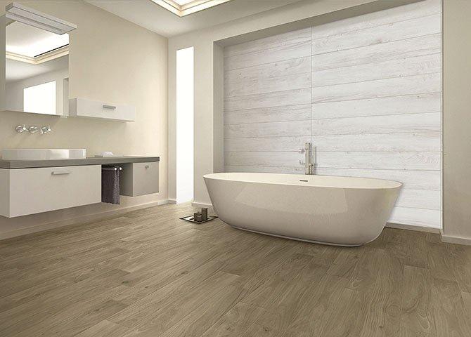 Pavimenti Finto Legno Bianco : Piastrelle effetto legno serie woodlands savoia walnut 15x100 cm