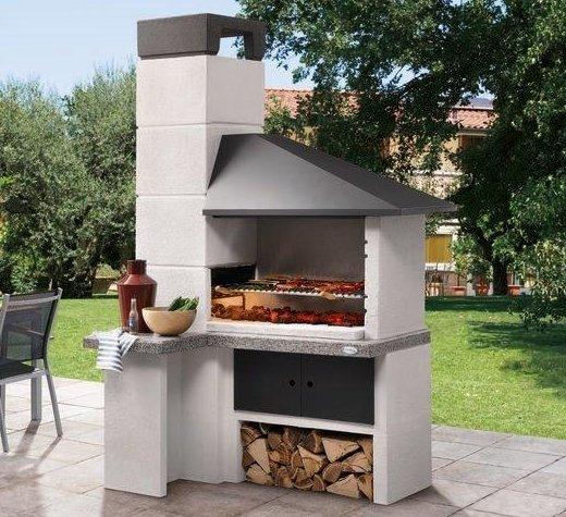 Barbecue In Muratura Da Giardino Faro New Palazzetti