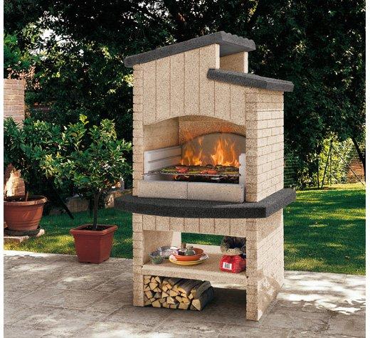 Barbecue In Muratura Da Giardino Marettimo New Palazzetti