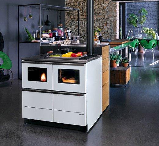 Cucina a pellet BELLA IDRO 15 kW Palazzetti
