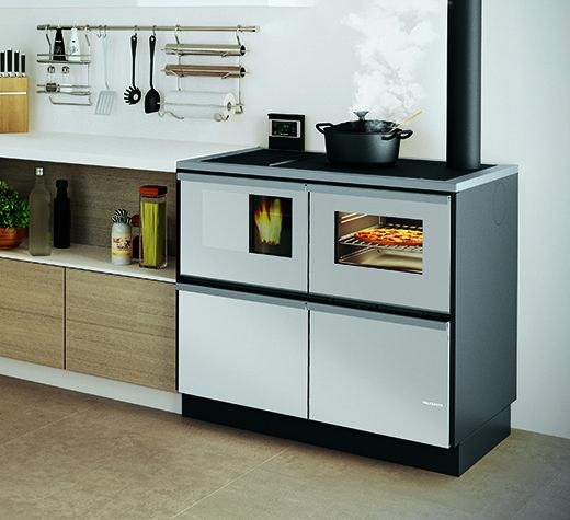 Cucina a pellet BELLA IDRO 20 kW Palazzetti