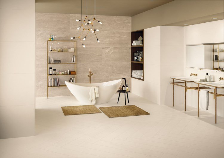 Piastrelle effetto resina elements design keope