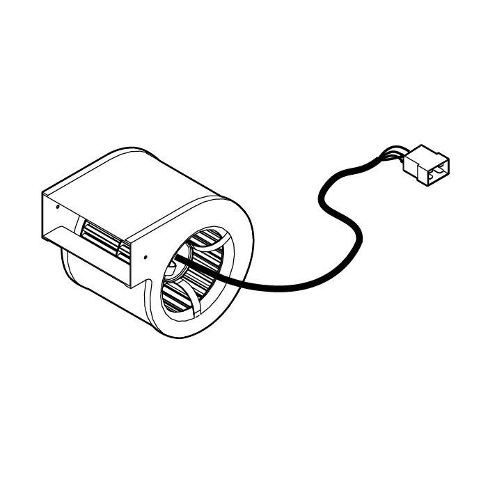 Ventilatore radiale x MB Caminetti Montegrappa 1040200502